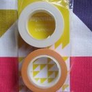 ARASHI 2015 JAPONISM CONCERT GOOD Masking Tape MT SAPPORO Nino Yellow In Stock