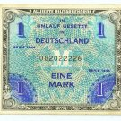 WW II Allied Military Currency - GERMANY - 1 Mark - ECA105