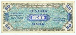 WW II Allied Military Currency - GERMANY - 50 Marks - ECA108