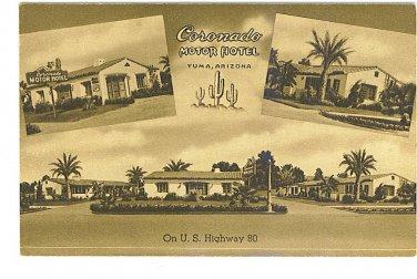 Coronado Motor Hotel - Yuma, Arizona - ED801
