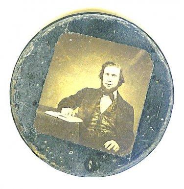 Louis (Lajos) Kossuth - Early Hungarian Leader Image?and Metal Case