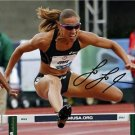 LOLO JONES SIGNED PHOTO 8X10 RP AUTOGRAPH TRACK 2012 LONDON SUMMER OLYMPICS