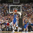 MARIO CHALMERS SIGNED PHOTO 8X10 RP KANSAS JAYHAWKS * THE SHOT