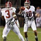 AJ MCCARRON & TRENT RICHARDSON DUAL SIGNED PHOTO 8X10 RP AUTOGRAPHED ALABAMA