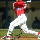 YOENIS CESPEDES SIGNED PHOTO 8X10 RP AUTOGRAPHED OAKLAND ATHLETICS CUBA BASEBALL