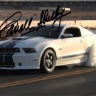 CARROLL SHELBY SIGNED PHOTO 8X10 RP AUTOGRAPHED 2012 MUSTANG GT350