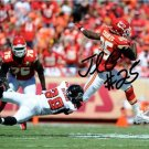 JAMAAL CHARLES SIGNED PHOTO 8X10 RP AUTO AUTOGRAPHED KANSAS CITY CHIEFS