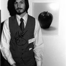 STEVE JOBS SIGNED 8X10 RP 1977 PHOTO * APPLE COMPUTER