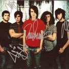 MAYDAY PARADE BAND GROUP SIGNED PHOTO 8X10 RP AUTOGRAPHED