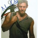 WALKING DEAD NORMAN REEDUS SIGNED PHOTO 8X10 RP AUTOGRAPHED * DARYL
