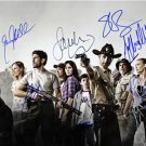 THE WALKING DEAD CAST SIGNED PHOTO 8X10 RP AUTOGRAPHED ANDREW LINCOLN +