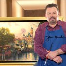 THOMAS KINKADE SIGNED PHOTO 8X10 AUTOGRAPHED **FAMOUS ARTIST