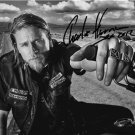 CHARLIE HUNNAM SIGNED PHOTO 8X10 RP AUTOGRAPHED * SONS OF ANARCHY * Jax 2012 *