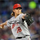 JERED WEAVER SIGNED PHOTO 8X10 RP AUTO * AUTOGRAPHED ** ANGELS **