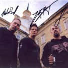 GHOST ADVENTURES SIGNED PHOTO 8X10 RP AUTOGRAPHED * ZAK, NICK, AARON