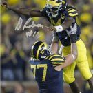 DENARD ROBINSON SIGNED PHOTO 8X10 RP AUTO AUTOGRAPHED MICHIGAN UNDER THE LIGHTS