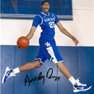 KENTUCKY ANTHONY DAVIS SIGNED PHOTO 8X10 RP AUTO WILDCATS
