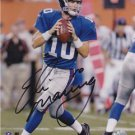 ELI MANNING SIGNED PHOTO 8X10 RP AUTO N.Y. GIANTS