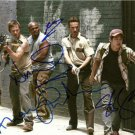THE WALKING DEAD CAST SIGNED PHOTO 8X10 RP AUTOGRAPHED