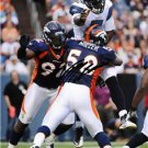 DENVER VON MILLER SIGNED PHOTO 8X10 RP AUTO BRONCOS !!