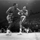 MUHAMMAD ALI & JOE FRAZIER DUAL SIGNED PHOTO 8X10 RP AUTO AUTOGRAPHED BOXING