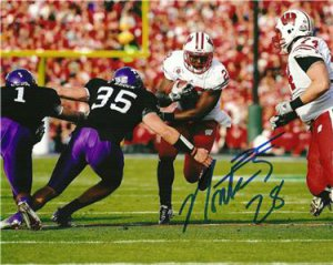 MONTEE BALL SIGNED PHOTO 8X10 RP AUTO AUTOGRAPHED *  WISCONSIN BADGERS STAR RB