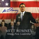 MITT ROMNEY SIGNED PHOTO RP AUTOGRAPHED NEW PRESIDENT ?
