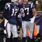 TOM BRADY & ROB GRONKOWSKI SIGNED PHOTO 8X10 RP AUTO AUTOGRAPHED NEW ENGLAND