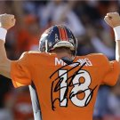 * PEYTON MANNING SIGNED PHOTO 8X10 RP AUTOGRAPHED * DENVER BRONCOS