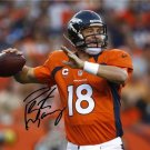 PEYTON MANNING SIGNED PHOTO 8X10 RP AUTOGRAPHED * DENVER BRONCOS