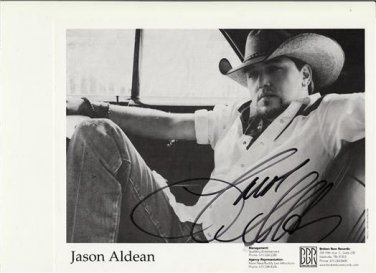JASON ALDEAN SIGNED PHOTO 8X10 RP AUTOGRAPHED *COUNTRY MUSIC SINGER *