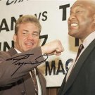 TOMMY MORRISON SIGNED PHOTO 8X10 RP AUTOGRAPHED with George Foreman