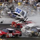 KYLE LARSON  SIGNED PHOTO 8X10 RP AUTOGRAPHED * NASCAR DAYTONA 500 CRASH