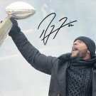 RAY LEWIS SIGNED SUPER BOWL PHOTO POSTER JERSEY 8X10 RP AUTOGRAPHED RAVENS