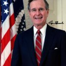 GEORGE BUSH SR SIGNED PHOTO 8x10 RP AUTOGRAPHED PRESIDENT