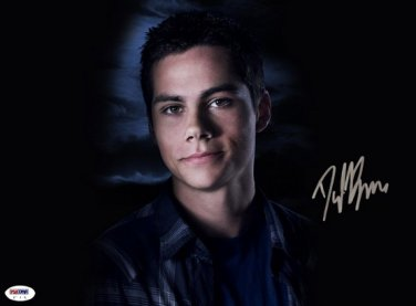 DYLAN O'BRIEN SIGNED POSTER PHOTO 8X10 RP AUTOGRAPHED TEEN WOLF