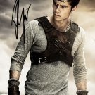 * DYLAN O'BRIEN SIGNED POSTER PHOTO 8X10 RP AUTOGRAPHED THE MAZE RUNNERTEEN WOLF