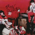 THE WHITE STRIPES BAND GROUP SIGNED PHOTO 8X10 RP AUTOGRAPHED JACK & MEG