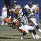 JUNIOR SEAU SIGNED POSTER PHOTO 8X10 RP AUTOGRAPHED *SAN DIEGO CHARGERS