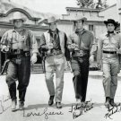 BONANZA FULL CAST SIGNED POSTER PHOTO 8X10 RP AUTOGRAPHED