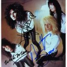 MOTLEY CRUE FULL BAND SIGNED PHOTO 8X10 RP AUTOGRAPHED VINCE NEIL NIKKI SIXX