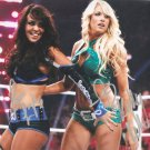 KELLY KELLY & LAYLA SIGNED PHOTO 8X10 RP AUTOGRAPHED DIVAS WWE WRESTLING