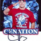 JOHN CENA SIGNED PROMO PHOTO 8X10 RP AUTOGRAPHED WWE