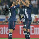 CLINT DEMPSEY LANDON DONOVAN SIGNED PHOTO 8X10 RP AUTOGRAPHED USA SOCCER
