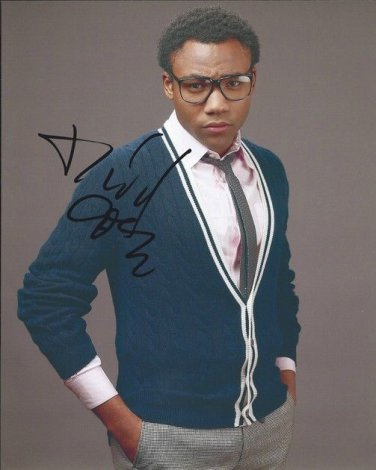 DONALD GLOVER SIGNED PHOTO 8X10 RP AUTOGRAPHED