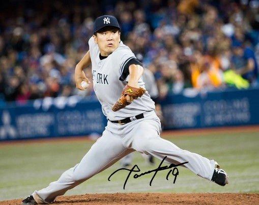MASAHIRO TANAKA SIGNED PHOTO 8X10 RP AUTOGRAPHED  AUTO NEW YORK YANKEES