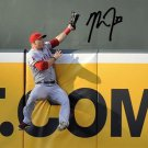 MIKE TROUT SIGNED PHOTO 8X10 RP AUTOGRAPHED ANGELS * THE CATCH