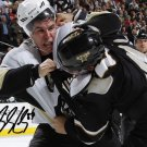 SIDNEY CROSBY SIGNED PHOTO 8X10 RP AUTOGRAPHED PITTSBURGH PENGUINS * FIGHT !