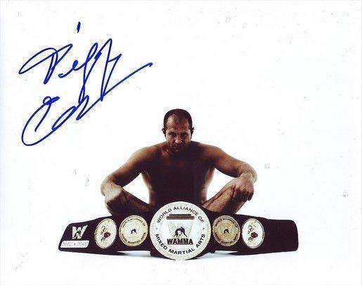 FEDOR EMELIANENKO SIGNED PHOTO 8X10 RP AUTOGRAPHED UFC MMA STRIKEFORCE **