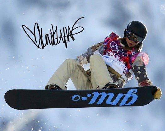 KAITLYN FARRINGTON SIGNED PHOTO 8X10 RP AUTOGRAPHED USA SOCHI OLYMPICS